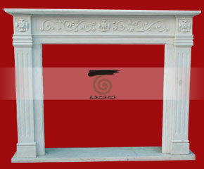 marble fireplace O-FP026 (WFP024)