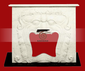 marble fireplace O-FP027 (WFP026)