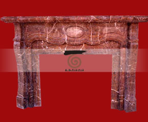 marble fireplace O-FP030 (WFP030)
